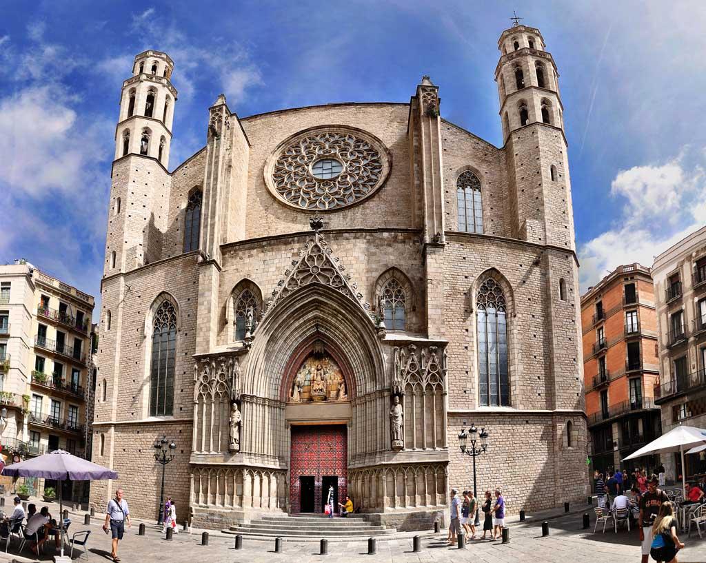 Catedral del Mar (pano)