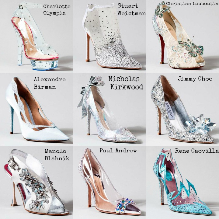 sapatos cinderela